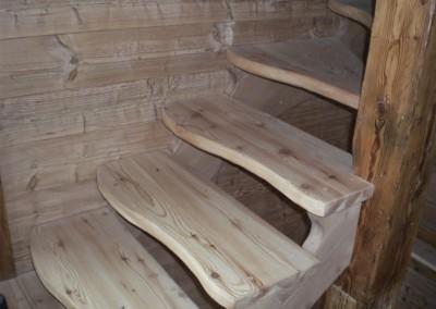 Realizzazione scala su misura in legno