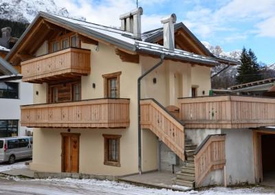 Trasformazione completa di edificio rurale Padola zona artigianale Val Grande