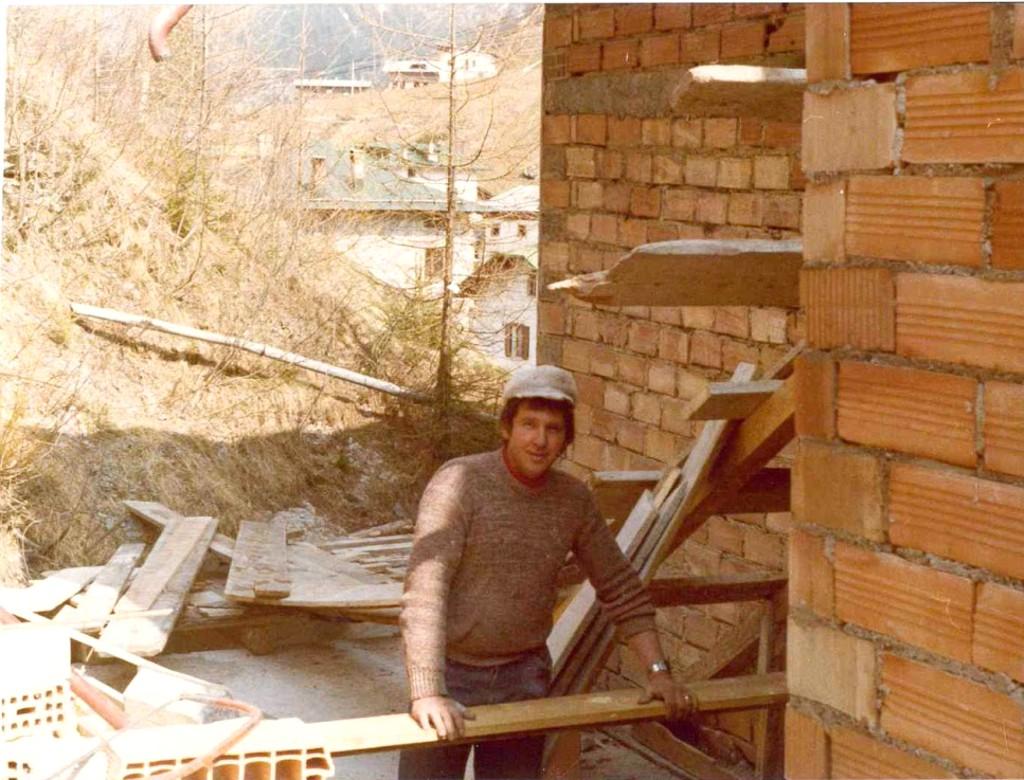 Gilio Pradetto Bonvecchio negli anni 70