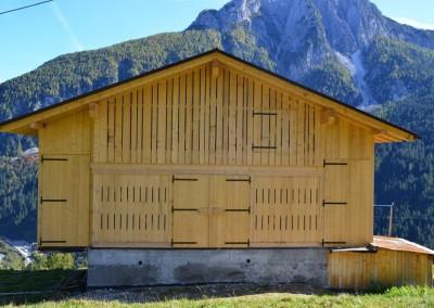 Valle 2012: demolizione e ricostruzione di fabbricato rurale, dopo